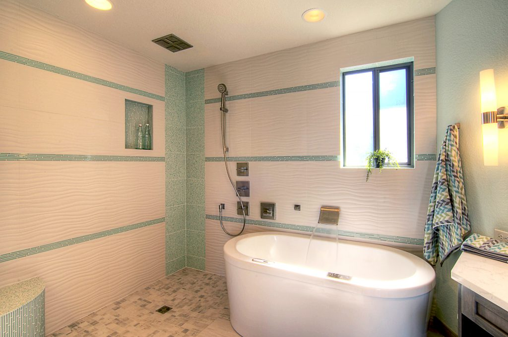 Edmonds Master Bath After 1. Bathroom Remodeling   Irons Brothers Construction