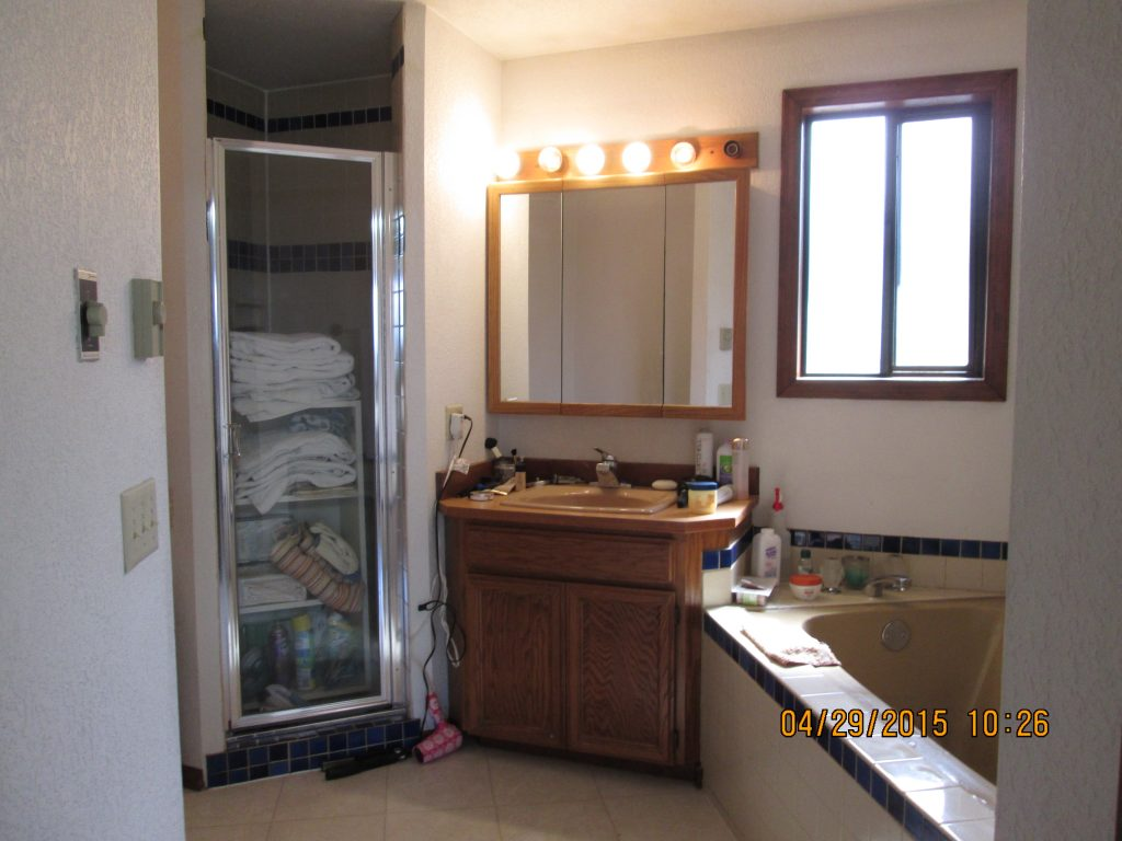 Edmonds Master Bath Before 1. Bathroom Remodeling   Irons Brothers Construction